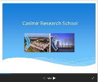 Casimir Science Day: Welcome